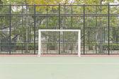 Soccer net — Stock Photo