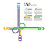 Highway — Cтоковый вектор