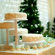 Stock Photo: Winter cake