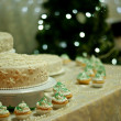 Winter cake — Stock Photo
