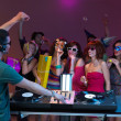Постер, плакат: Party with friends and dj