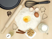 Sweets preparation — Stock Photo