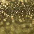 Golden glitter - Stock Photo