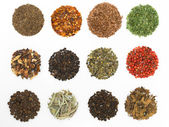 Round spices — Stockfoto