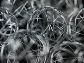 Xmas wire ball — Stock Photo