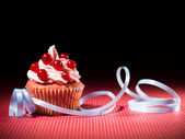 Party cupcake — Stock Photo