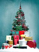 Snowy christmas — Stock Photo