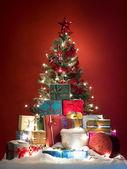Joyfull cartão de natal — Fotografia Stock