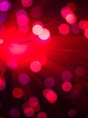 Resumen tecnología con fibra óptica — Foto de Stock