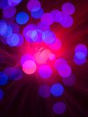 Krásné barevné kulaté ve tvaru světla — Stock fotografie