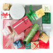 Stock Photo: Colorful presents for different occasions