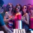 Girls night out at a party — Foto Stock