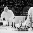Stock Photo: Laboratory chemical analysis