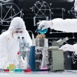 Stock Photo: Laboratory experimental testing