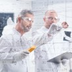 Постер, плакат: Chemistrylaboratory graphics