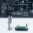 Stock Photo: Chemistry laboratory set up
