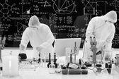 Laboratory chemical analysis — Stock Photo