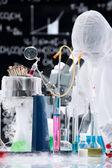 Análisis químicos de laboratorio — Foto de Stock