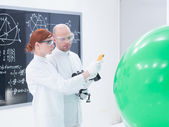 Scanning objects in laboratory — Stock Photo