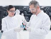 Molekulare struktur-analyse — Stockfoto