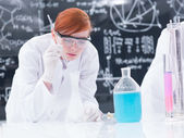 Student lab experiment — Stock Photo