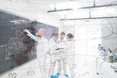 Chemistry laboratory lessons — Stock Photo