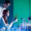 Botanical research — Stock Photo