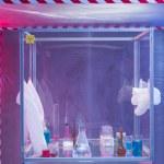 Постер, плакат: Chemical equipment in protection enclosure