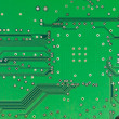A close-up of a green microprocessor — Stock Photo #27702891
