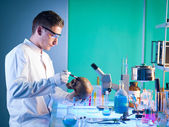 Forensics scientist — Foto Stock