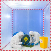 Contamination risk — Stock Photo
