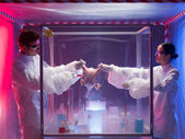 Chemical experiments — Stock Photo