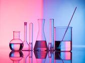 Glass science — Stock Photo
