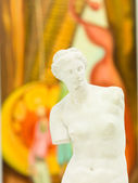 Replica of Venus de Milo in art gallery — Stock Photo