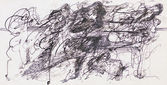 Abstract ink drawing — Stock Photo