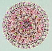 Colorful mandala design — Stock fotografie