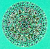 Colorful mandala design — Foto Stock
