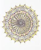 Mandala colorida — Foto Stock