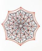 Beautiful mandala design — Foto de Stock