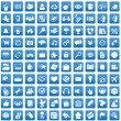 Set of 100 icons for each day - Stock Vector