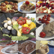 Italian recipes — Stock Photo