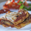 Italians lasagne - Stock Photo