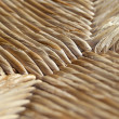 Detail of a cane chair — Stockfoto