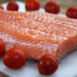 Raw salmone fillet — Stock Photo