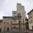 SGimignano towers — Stockfoto #38135527