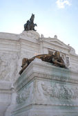 Vittorian monument at Rome — Stockfoto