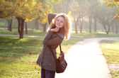 Young blonde girl — Stock Photo