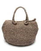 Knitted woman handbag — Foto Stock