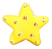 Star shaped biscuit — Stock Photo