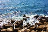 Stone sea beach — Stock Photo
